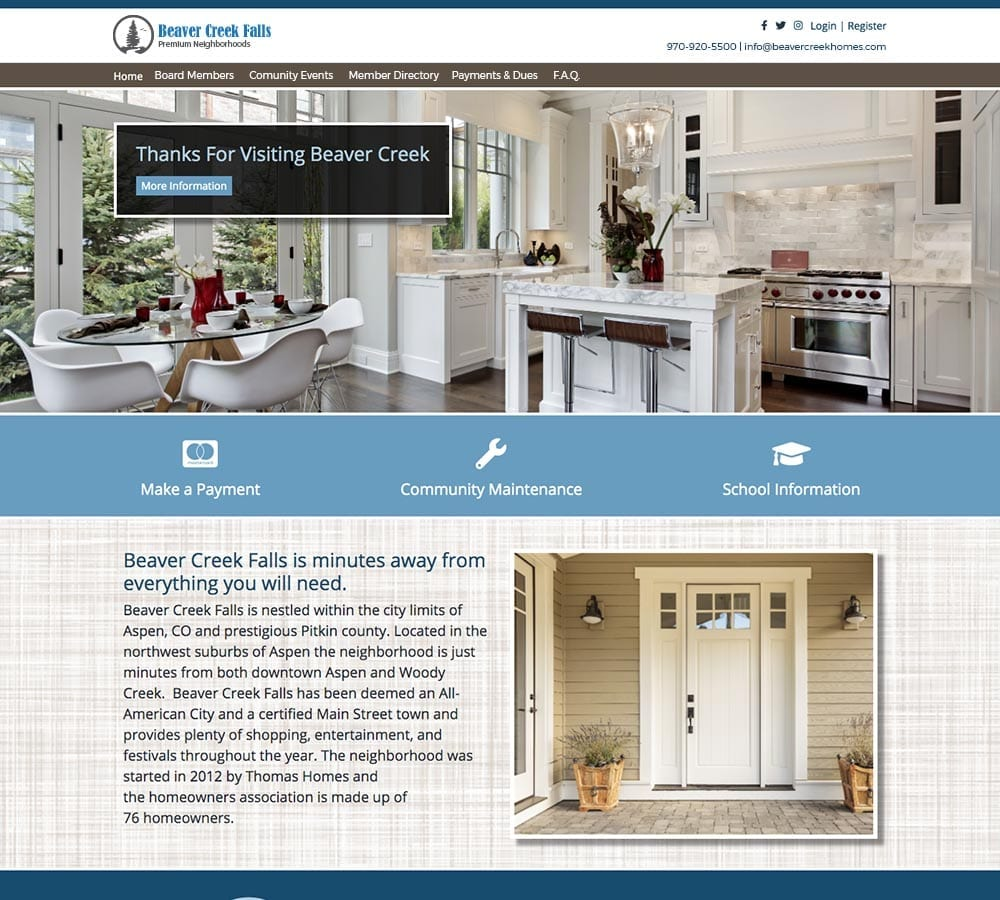condo association websites