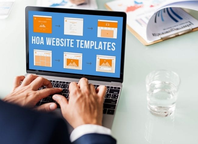 What are HOA Website Templates?