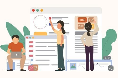 HOA Management Software People web design