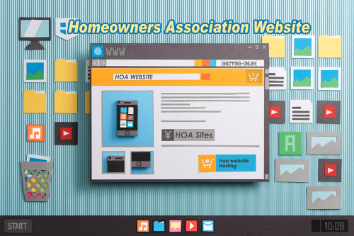 HOA Website - Mock up
