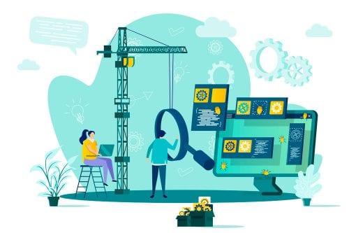 HOA Website Guide Illustration website building