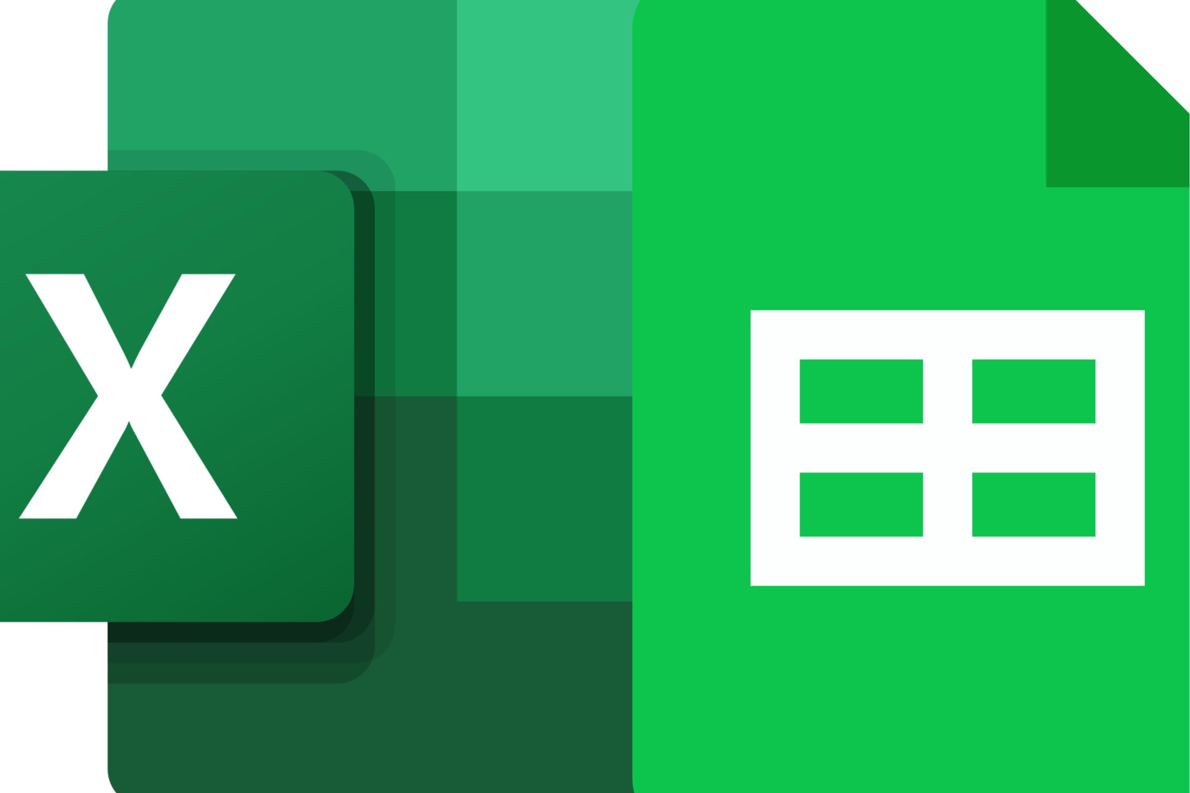 Excel_Google Sheets